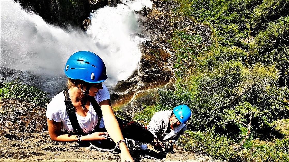 Klettersteig Geierwand : Fankhauser outdoorsport